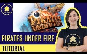 Pirates Under Fire Tutorial - Gioco da Tavolo - Anteprima Essen Spiel 2019