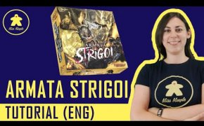 Armata Strigoi Tutorial - Boardgame - Preview Essen Spiel 2019 (ENG)