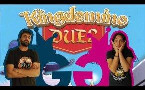 Kingdomino Duel: magie a suon di dadi! Partita completa al Roll & Write per due giocatori