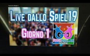 Live dallo #SPIEL19 - Giorno 1