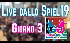 Live dallo #SPIEL19 - Giorno 3