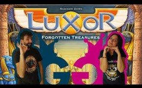 Luxor, andiamo a caccia di tesori! Partita completa al finalista del Gioco dell'anno e del SdJ