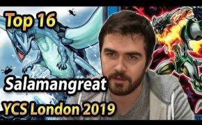 YUGIOH | SALAMANGREAT DECK PROFILE | TOP 16 YCS LONDON 2019