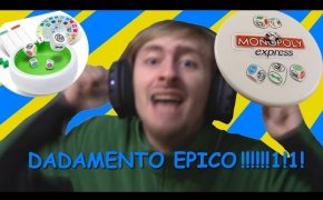 UNBOXING Monopoly Express - DADAMENTO EPICO!!1! (Monster in a Box)