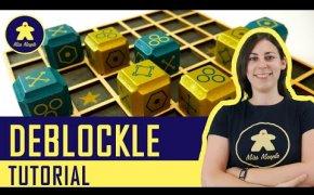 Deblockle Tutorial - Gioco da Tavolo Astratto - Logica Giochi
