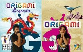 Origami e Origami Leggende con l'autore! Partita Completa al nostro gioco pocket preferito!