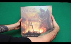 Tainted Grail unboxing
