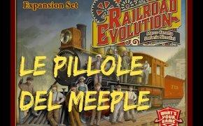 Railroad Evolution breve panoramica - Le Pillole del Meeple