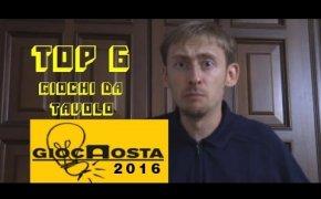 Top 6 Giochi da Tavolo provati al GiocAosta 2016!