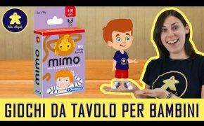 MIMO - Gioco di carte per Bambini - Clementoni - 4+ anni