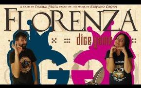 Florenza dice game, non un semplice roll&write! Partita completa al nuovo gioco Post Scriptum