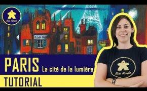 PARIS. LA CITE DE LA LUMIERE Tutorial - Gioco da tavolo per Due - La ludoteca #95