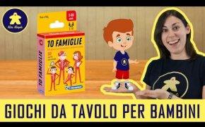 10 Famiglie - Gioco di Carte per Bambini - Clementoni - 5+