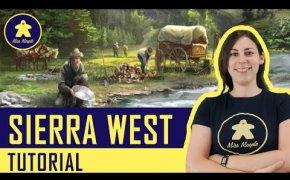 SIERRA WEST Tutorial (con 4 modalità di gioco) - Gioco da Tavolo - La ludoteca #96