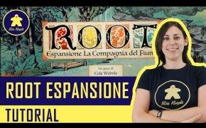 ROOT LA COMPAGNIA DEL FIUME (Espansione) - Tutorial Gioco da Tavolo - La ludoteca #97