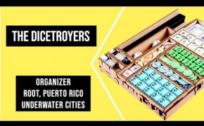 DICETROYERS - Organizer Giochi da Tavolo (Root, Underwater Cities, Puerto Rico)