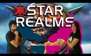Star Realms, battaglie spaziali tra astronavi! Partita completa ad un deckbuilding rapido e compatto