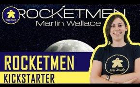 ROCKETMEN di Martin Wallace - Anteprima Kickstarter Gioco da Tavolo
