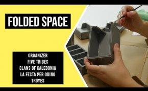 FOLDED SPACE - Organizers Giochi da Tavolo (Recensione Accessori per Giochi da Tavolo)