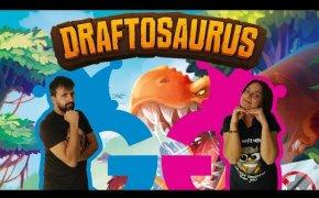 Draftosaurus, costruiamo il nostro Jurassic Park! Partita completa con l'ospite!