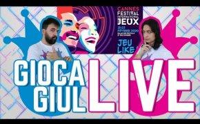 Gioca GiulLIVE - Il Festival des Jeux di Cannes 2020