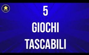 Giochi da Tavolo Tascabili e da Viaggio - 5 Consigli