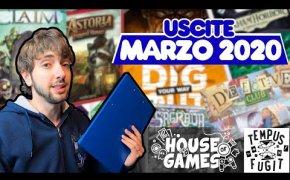 I Giochi da tavolo in USCITA a MARZO 2020