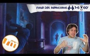 Fuga dal manicomio (escape room) - Recensioni Minute [282]