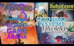 Giochiamo INSIEME su Board Game Arena (LIVE)