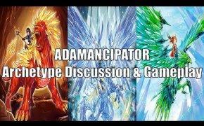 YUGIOH   ADAMANCIPATOR DECK PROFILE + REVIEW + DISCUSSION + GAMEPLAYS