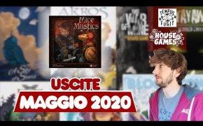 I Giochi da Tavolo in USCITA a MAGGIO 2020