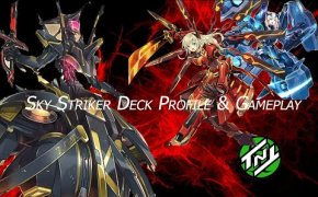 YUGIOH   SKY STRIKER DECK PROFILE + COMBO AND GAMEPLAY