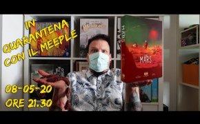 Partita in solo a On Mars - In quarantena con il Meeple