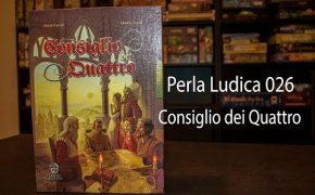 Perla Ludica 026 - Consiglio dei Quattro (Council of Four)