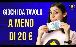Giochi da Tavolo sotto i 20 Euro!