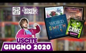 I Giochi da Tavolo in USCITA a GIUGNO 2020