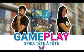 Paris: la Cité de la Lumière Partita completa ad un gioco da tavola per due che ci porta a Parigi