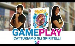 Via Magica, Partita completa a un Gioco da Tavolo pieno di incantesimi, spiriti e portali!