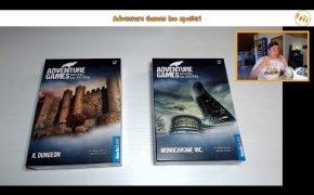 Adventure Games: Il Dungeon e Monochrome inc - Vlog [148]