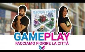 Bloom Town, Partita Completa al gioco da tavolo che fiorire le città!