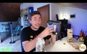 Modular Dice Tower (UGEARS) - Recensioni Minute [298]
