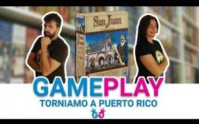 San Juan, Partita completa al gioco di carte di Puerto Rico