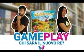 Kingdomino, partita completa al gioco pluripremiato in tutto il mondo!