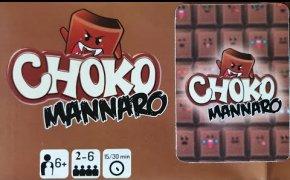Choko Mannaro - quando il cioccolato prende vita! gioco da tavolo (ENG SUB)