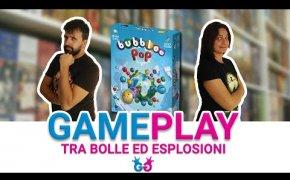 Bubblee Pop, Partita completa ad un gioco da tavolo con le bolle da scoppiare!