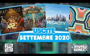 I Giochi da Tavolo in USCITA a SETTEMBRE 2020   Un rientro con il BOTTO!