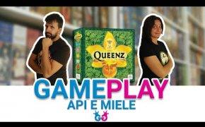 Queenz, chi sarà il miglior apicoltore? Partita completa al gioco da tavolo a tema miele!