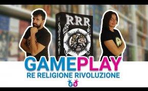 RRR: Regno Religione e Rivoluzione, Partita completa a un gioco astratto super compatto!