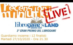 LIVE - I 12 libri game finalisti del LGL Award 2020
