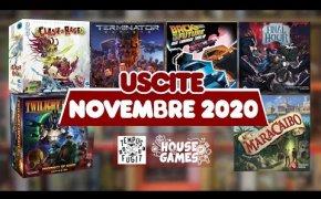 I Giochi da Tavolo in USCITA a NOVEMBRE 2020 | Un Mese ESPLOSIVO
